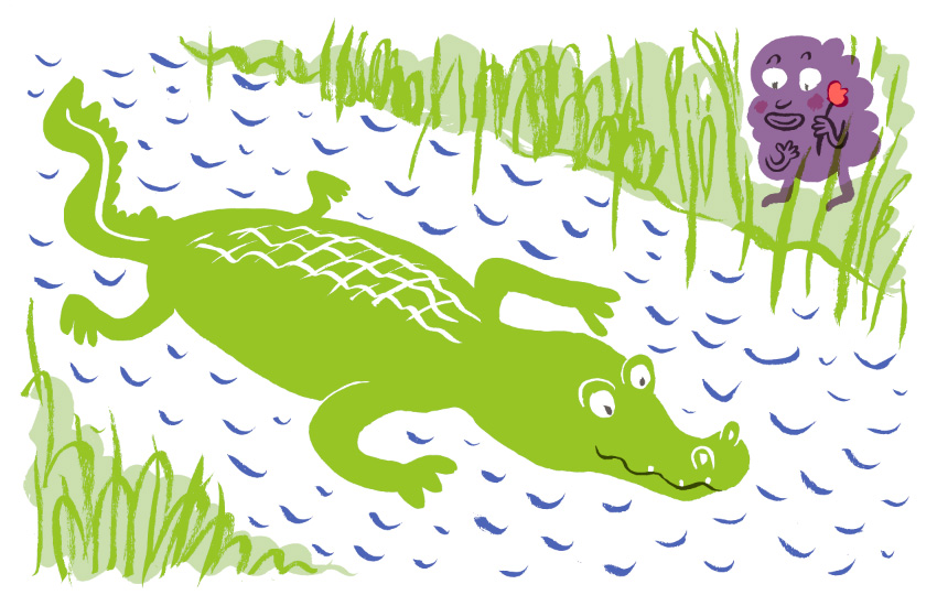 Risograph Alligator